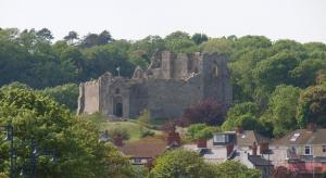 Oystermouth Castle, Gower