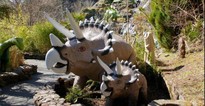 Dan-yr-Ogof Dinosaur Park and Caves
