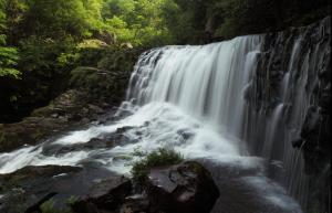 Stunning waterfall at Ystradfellte