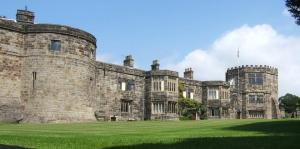 Skipton Castle on the southern edge of the Yorkshire Dales