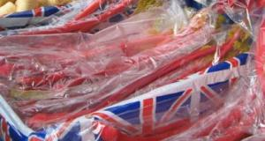 Yorkshire's famous Forced Rhubarb grown around Wakefield