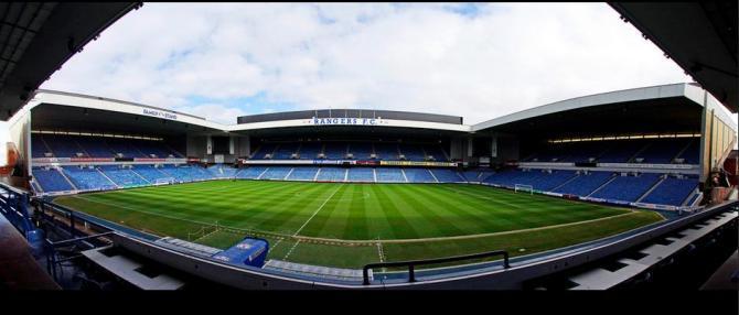 Ibrox Stadium Panorama