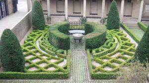 Garden behind Provands Lordship