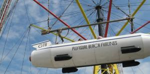 History is all around you in Blackpool - Flying Machines, Pleasure Beach's oldest ride