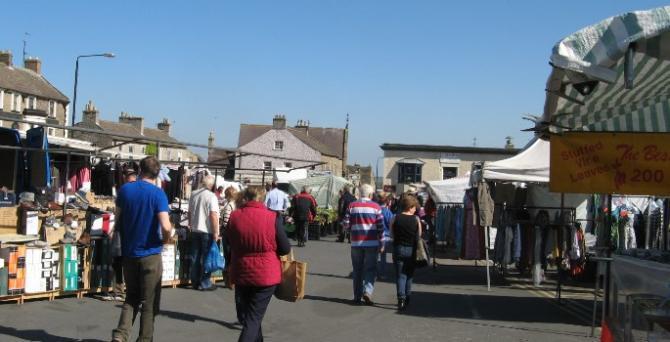 Leyburn Market