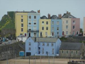 Colourful Tenby