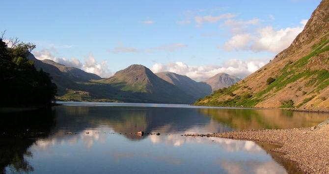View over Wast Water