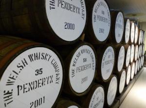 Penderyn Whisky casks