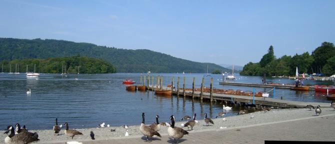 View over Windermere from Bowness