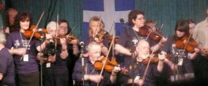 Folk Festival Fiddlers