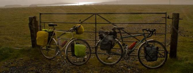 Cycling in the Shetlands
