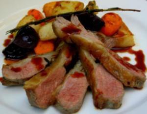 Shetland lamb meal