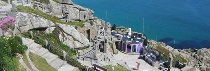 The Minack Theatre, West Cornwall