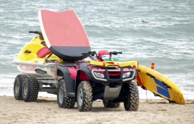 Lifeguard quad bike etc!