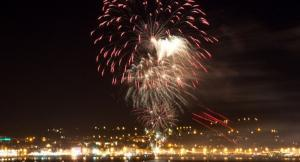 Weymouth Carnival Fireworks
