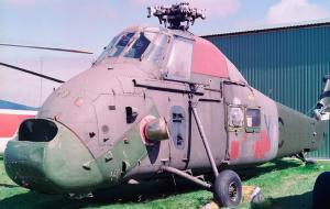 A Westland Wessex at the Helicopter Museum