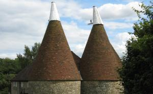 Kent's distinctive oast houses