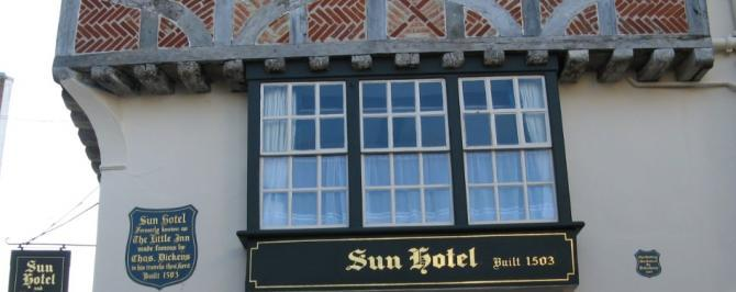 Historic Kentish inns with rooms
