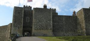 Dog friendly days out in Kent at Dover Castle