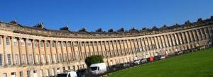 Bath's famous Royal Crescent