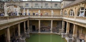 The Roman Baths in Bath!