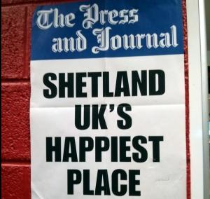 Shetland - the UK's happiest place