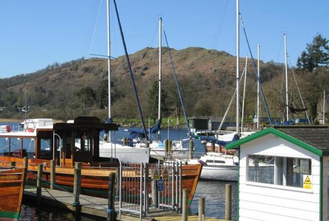 Boat trips from Waterhead Pier