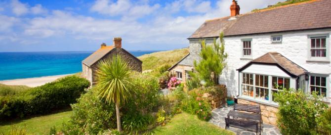 Luxury former fisherman's cottages on the UK Coast