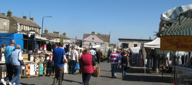 Leyburn's Weekly Friday Market