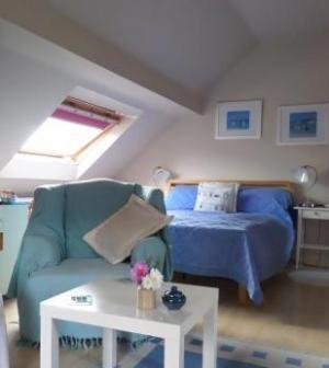 Stylish B&B accommodation with seating area