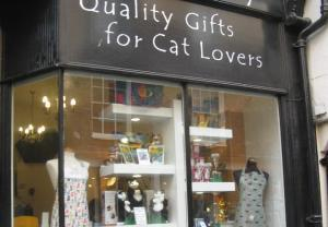 The Cat Gallery, Low Petergate, York