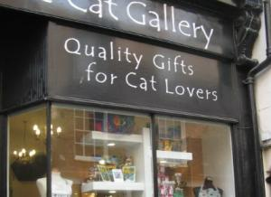 The Cat Gallery Shop in York