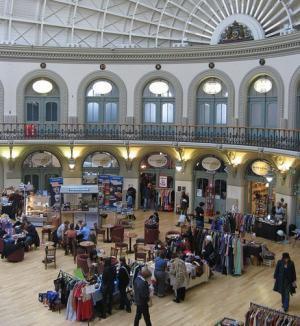 Leeds Corn Exchange Vintage Markets
