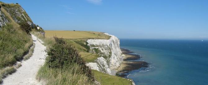 White Cliffs Coast Path Walk