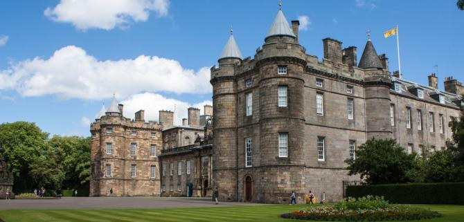 View of Holyrood House