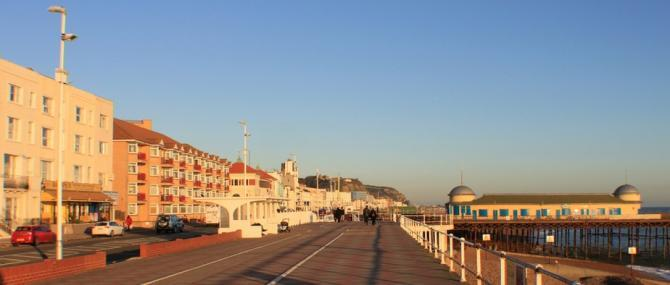 St Leonards on Sea - Promenade & Seafront