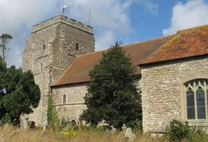 Norman St Nicolas Church, Pevensey Village.