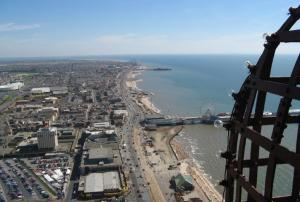 Tower Top Views - Blackpool Tower Eye Experience