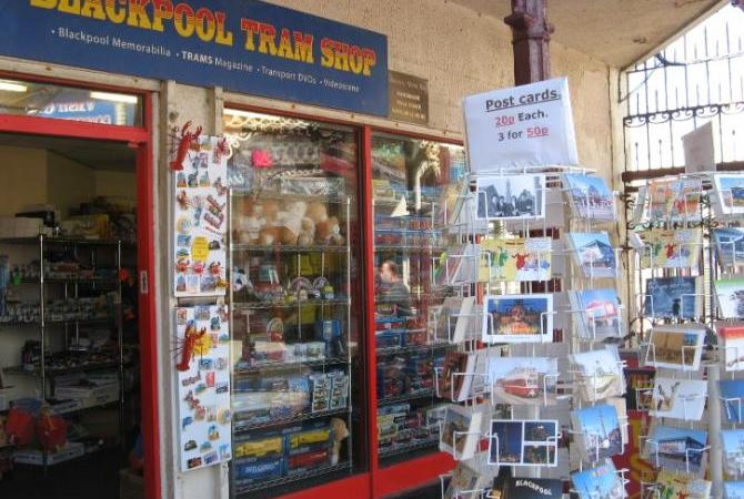 Quirky Gift Shop Gems - Blackpool Tram Shop near North Pier
