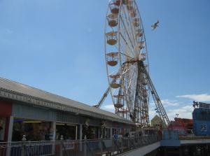 Big Wheel on Central Pier