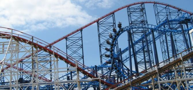 Blackpool Pleasure Beach - Britain's most Ride Intensive Theme Park!