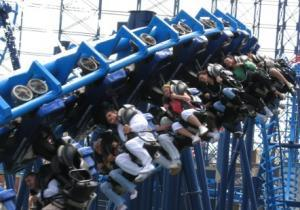 Infusion - The looping coaster at Pleasure Beach