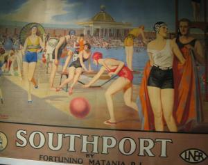 Fortunino Matania's 1930s commissioned posters of Southport at The Atkinson