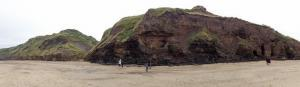 Dog friendly Runswick Bay on the Heritage Coast near Whitby