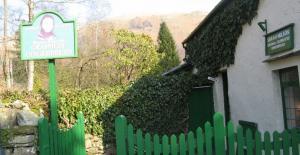 Sarah Nelson's famous Grasmere Gingerbread Shop