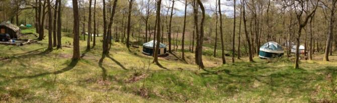 Luxury Glamping Yurts at Low Wray near Ambleside
