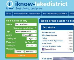 Search for last minute Lake District Accommodation in the Green Box!
