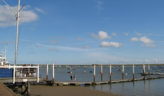 Yachting centre Burnham-on-Crouch