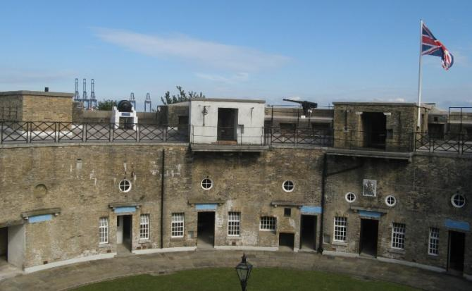Redoubt Fort, Harwich