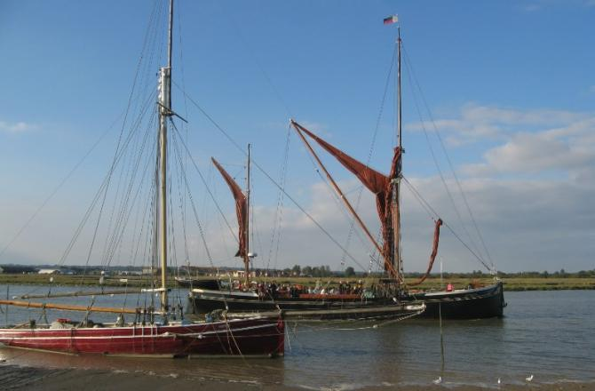 Boat trips from Maldon around the Blackwater Estuary